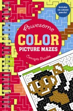 Awesome Color Picture Mazes
