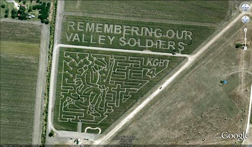 21 mazes: Remember our Valley Soldiers
