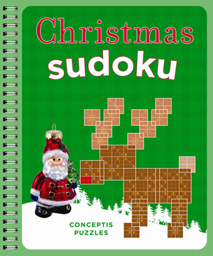 Christmas Sudoku: New book offers Christmas-related shaped Sudoku puzzles