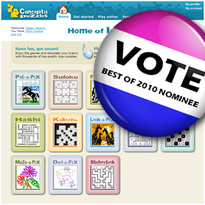 Vote Conceptis for The Best Site of 2010 Award