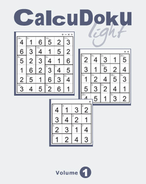 Released: CalcuDoku Light Vol 1