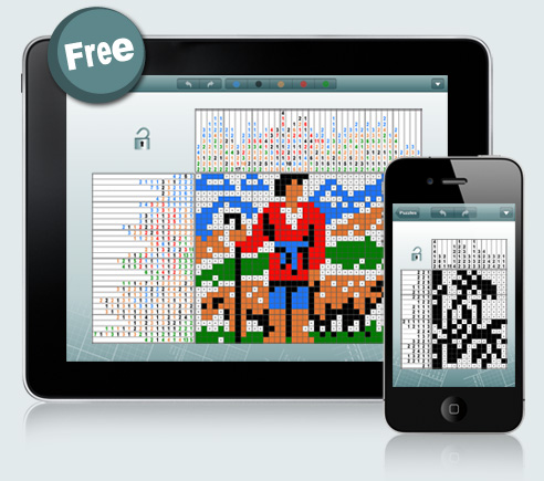 Pic-a-Pix for iPad and iPhone: The ultimate mix of logic, art and fun