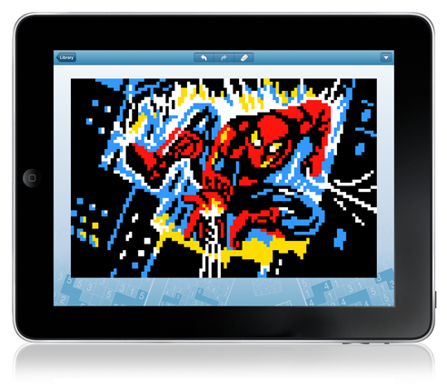 Link-a-Pix Famous Movies for iPad: 20 Pixel-Art Puzzles for Every Cinema Fan
