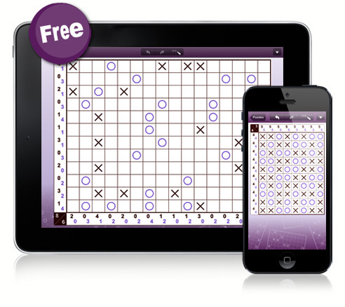 Tic-Tac-Logic for iPad and iPhone