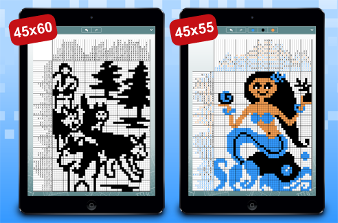 Larger Pic-a-Pix Puzzles Bring More Challenge to Your iPad