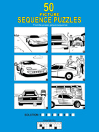 50 Picture Sequence Puzzles: Cover