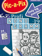 Pic-a-Pix Profi-Nonogramm 19: Cover