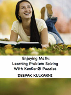 Enjoying Math - Learning Problem Solving with KenKen Puzzles: Cover
