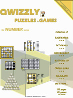 Quizzly Puzzles & Games For Number Lovers: Cover