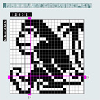 Pic-a-Pix Compact mode: More fun with larger puzzles and smaller screens