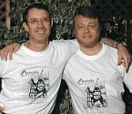 Green and Lerner in Conceptis t-shirts