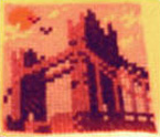London Bridge Cross-Stitch