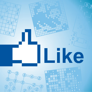 Facebook Like lets you vote on your favorite Conceptis puzzle types