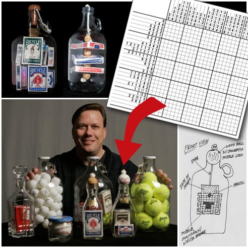 Bottle Magic Sweepstakes - with your own puzzle solution inside