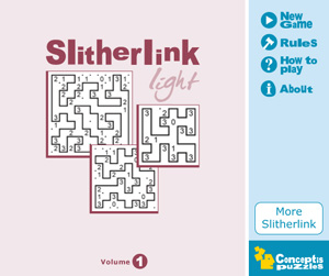 Released: Slitherlink Light Vol 1