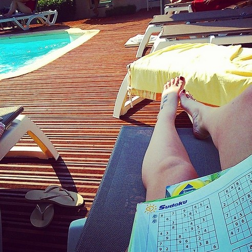 HOTEL POOL SUDOKU - 21 Inspiring Sudoku Moments Captured by Instagramers #3