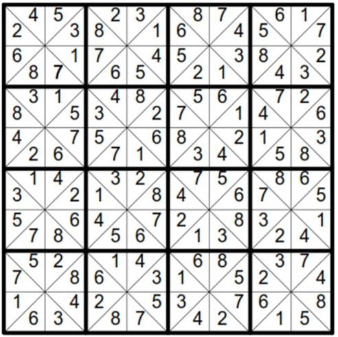 Solved Will Sudoku