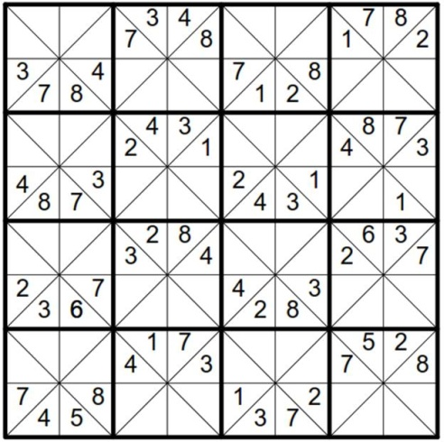 Will Sudoku: Example 2 puzzle