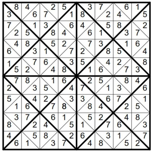 Will Sudoku with Triangular Boxes