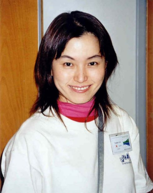 Yumiko Doi, Japan. Captain of the winning team