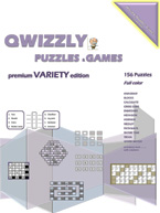Qwizzly Puzzles &amp; Games Premium Variety Edition: Cover