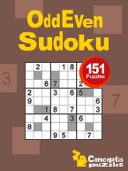 OddEven Sudoku: Cover