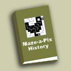 Maze-a-Pix History logo