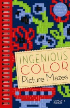 Ingenious Color Picture Mazes
