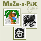 Maze-a-Pix Light Vol 1