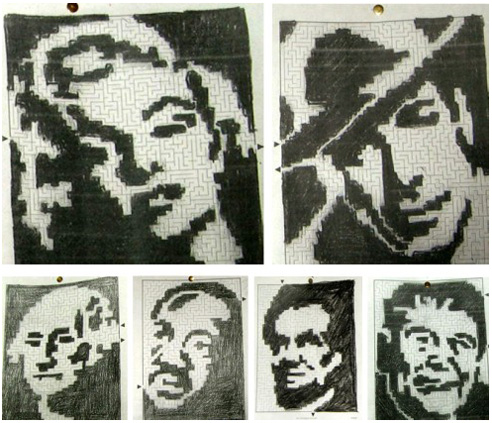 From DNA to Marilyn Monroe: The future of picture logic puzzles in education, final report-puzzles 3