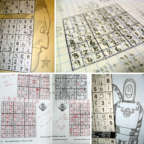 Conceptis Puzzles on Inspiring Examples Of Doodles  Comments And Notes While Solving