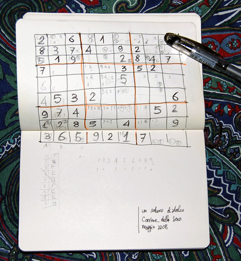 Consolation Sudoku records