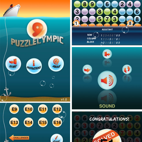 Puzzlelympic: First Conceptis Puzzles game for iPhone and iPod touch released