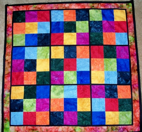Sudoku quilt by quilts by quiltsbyelena