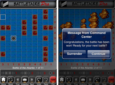 Battletaire Pro: Screenshots