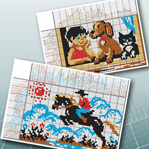 2 more Pic-a-Pix online puzzles every week