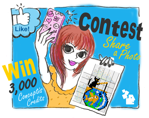 Contest: Share a Photo and Win 3,000 Conceptis Credits ($25 Value)