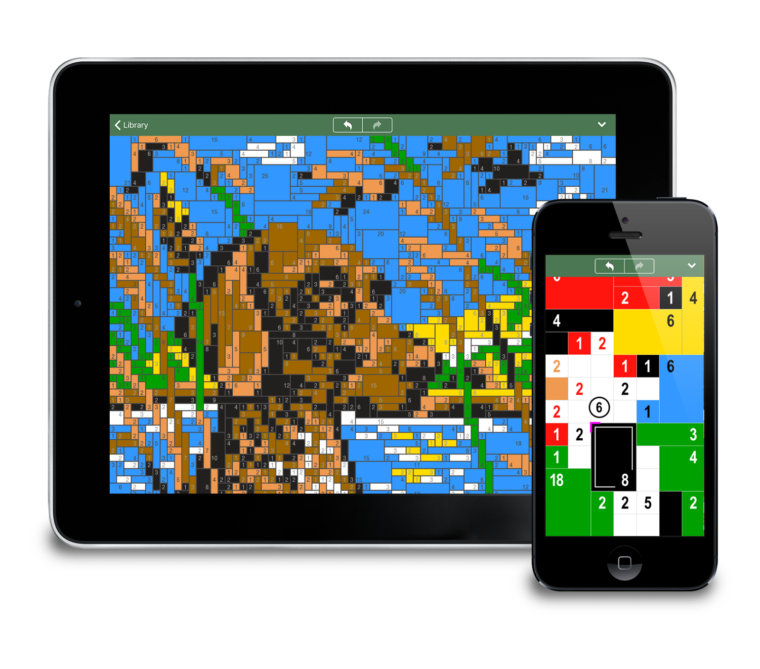 Block-a-Pix for iPhone and iPad - Find the Blocks, Discover the Picture Image