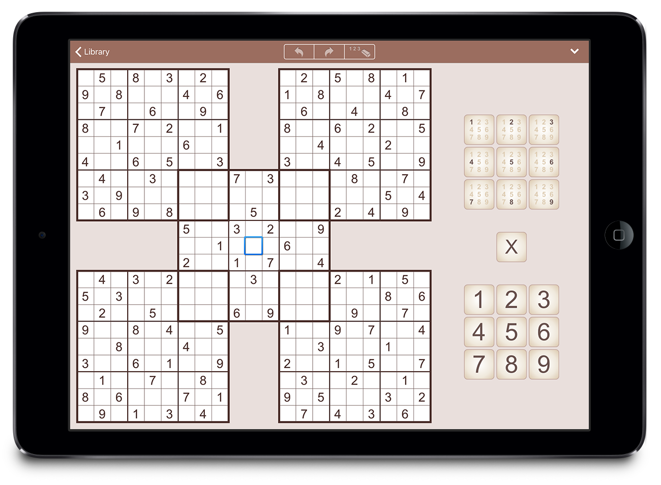 MultiSudoku for iPad - 4 Challenging Multi-Grid Variations Image