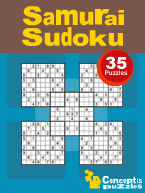 Samurai Sudoku: Cover