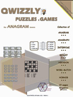 Quizzly Puzzles & Games For Anagram Lovers: Cover