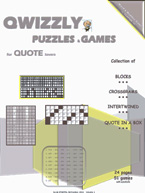 Quizzly Puzzles & Games For Quote Lovers:: Cover