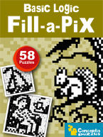 Basic Logic Fill-a-Pix: Cover