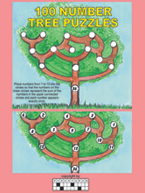 100 Number Tree Puzzles: Cover