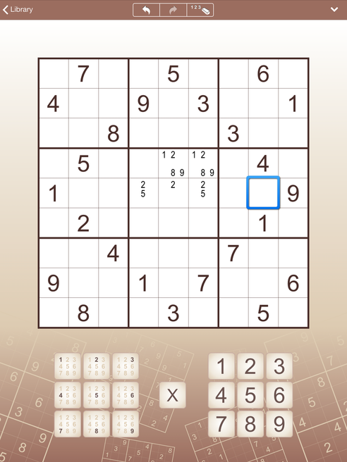 Sudoku for iPhone and iPad (iPad)