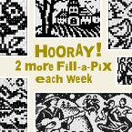 More Fill-a-Pix: 2 extra puzzles will be available in My Conceptis each week