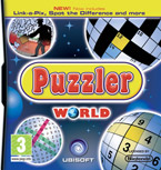 Puzzler World for Nintendo DS/DSi: Front cover