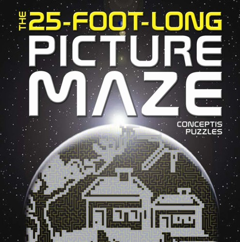 The 25-Foot-Long Picture Maze