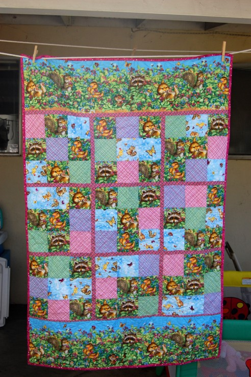 Sudoku baby quilt by kittlecarle