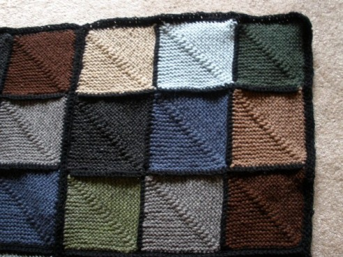 Sudoku knit by nuddpenney
